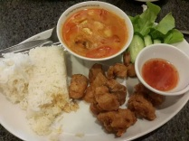 Black Canyon : tomyam set meal