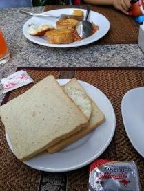 plain toast for breakfast
