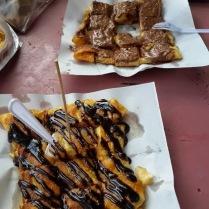 pancake from Yaminlah stall