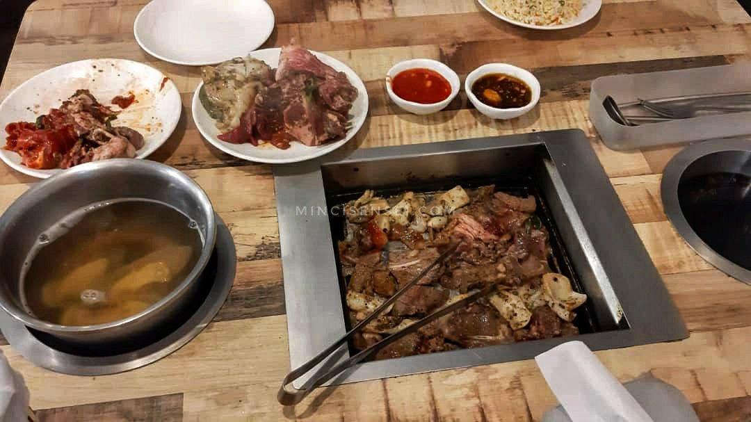 Eating at Seoul Garden Mahkota Parade – the new norm